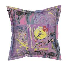 Seeking You Pillow by menny | Roostery Home Decor
