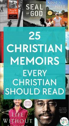 Inspiring and filled with courage, hope, sacrifice, and living out your faith, here are 25 Christian memoirs that every Christian should read. Book Club Books, Book Lists, Books To Read, Reading Lists, Story Of The World, Historical Romance, Christian Inspiration, Romance Novels, Memoirs
