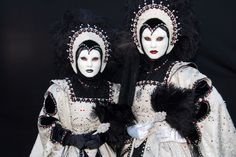 Ulrike Walz - Venezianische Messe Ludwigsburg - My own costume - with a friend