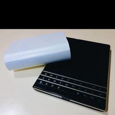 #inst10 #ReGram @ujjpl: #blackberry bluetooth speaker and #blackberrypassport #BlackBerry #BlackBerryClubs #BBer #BlackBerryPhotos #BlackBerryPassport #Passport
