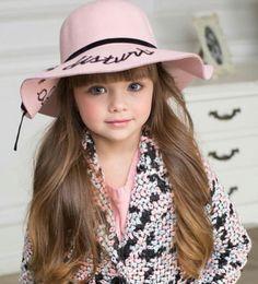 Cute Little Girls, Cute Kids, Anastasia Knyazeva, Kristina Pimenova, Child Smile, News Boy Hat, Young Models, The Most Beautiful Girl, Girl With Hat