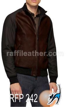 Jaket Kulit Pria » Jaket Kulit Pria RFP 242 • www.raffileather.com Jual Jaket Kulit Asli Garut Murah & Berkualitas #jaketkulit