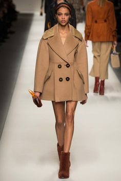 Fendi Fall 2015 RTW Collection - Style.com. Long live fashion: LÜR Nail presents the best designer runway looks of the Milan Autumn/Winter 2015 Collections.