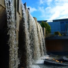 July 2014: Martin Luther King Jr. Memorial Waterfalls, one of my favorite spots in San Francisco. photo by me.