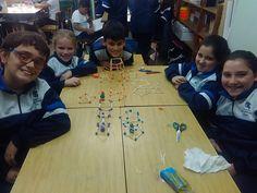 Blog 4º Educación Primaria Colexio San Fermín: Construímos polígonos y prismas