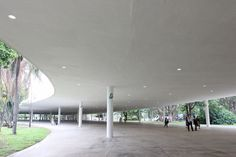 Oscar Niemeyer Sao Paulo The Marquise