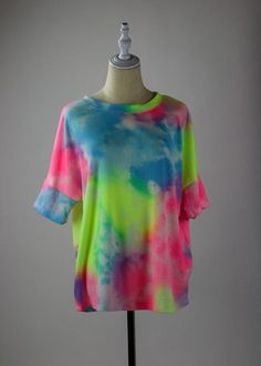 Tie-Dye For Tee Girl Gang, All The Colors, Tees, Shirts, Tie Dye, Colour, Women, Fashion, Color