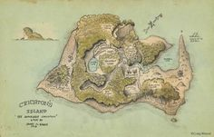 Crichton's Island by JM Barrie (illus by Craig Wetzel)