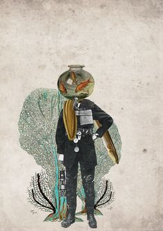 Collages by Julia Geiser