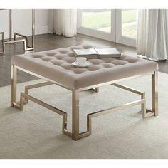 ACME Furniture Damien Fabric Coffee Table U0026 Reviews | Wayfair