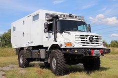 Camper Caravan, Truck Camper, Rv Campers, General Motors, 6x6 Truck, Rv Bus, Mercedes Benz Trucks, Adventure Campers, Expedition Vehicle