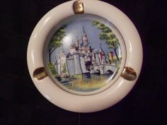 Ashtray/Disneyland/ Vintage by MermaidMemoirs on Etsy