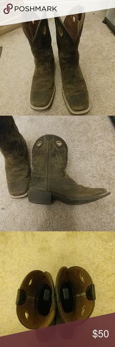 Sz 5 ariat boots Good condition. Rarely worn. Reasonable offers considered Ariat Shoes Boots
