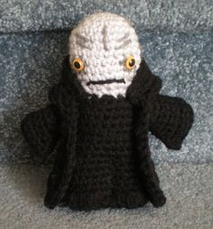 Made to order Hand crocheted Star Wars Emperor by joyalice on Etsy