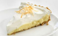 Coconut Cream Pie recipe from Icarly :O Icarly, Toasted Coconut, Coconut Cream, Coconut Milk, Almond Milk, Healthy Desserts, Just Desserts, Summer Desserts, Healthy Eats