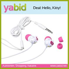 #Deal: Hello Kitty Kopfhörer: Mädels ihr wollt Musik hören und euren Stil zeigen?  #HelloKittyKopfhörer besetzt mit Schmucksteinen, super Sound und vor allem streng limitiert gibt's  ab 5,80€ auf #Yabid! http://de.yabid.net/Hello-Kitty-Kopfhoerer-CDs-DVDs-Musik-Classic-Auktion-8728.html