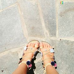 Thank you so much @linn_clr for sharing with us your beautiful hand made sandals @atelierparossandals 😍❤😘 We hope see you soon in Parikia!    #leathersandals #summer #sandals #summer2017 #madeingreece #realleather #shoes #fashion #greeksandals #handmade #welovegreece #greece #paros #familybusiness #atelierparossandals #boho  #shopping #handmadesandals #artisanatcuir #artisanat #thegreeksandals #fashion #newcollection #handmade