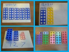 Numicon multiplication division