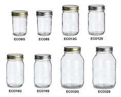 Website that sells mason jars for less than $1 a piece!