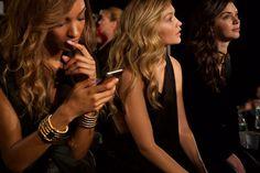 Jourdan Dunn, Gigi Hadid and Kendall Jenner.