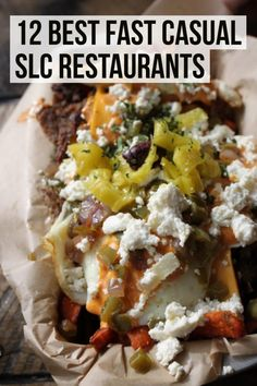 A list of the greatest spots for fast casual dining in Salt Lake City!