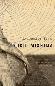 """Book cover of """"The Sound of Waves"""" by Yukio Mishima, Japan"""