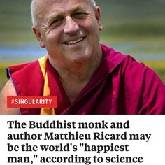 """The Buddhist monk and author Matthieu Ricard may be the world's """"happiest man"""" according to science http://ift.tt/2l3lug5 . . . . . #news #fashion #photography #follow #новости #music #instagram #media #memes #newyork #like4like #love #bitcoin #update #money #funny #nyc #pic #animals #btc #blog #art #instagood #dogs #christmas #beautiful #picture #crypto #moda #россия"""