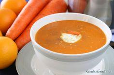 Receta de Crema de zanahoria rica #RecetasGratis #RecetasdeCocina #RecetasFáciles #LasMejoresRecetas #RecetasPopulares #Zanahoria #Sopas #Cremas