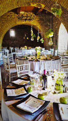 Allestimento nozze in castello, una favola a tutti gli effetti!