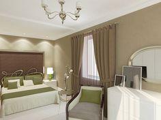 спальня Studio, Curtains, Green, Home Decor, Blinds, Decoration Home, Room Decor, Studios, Draping