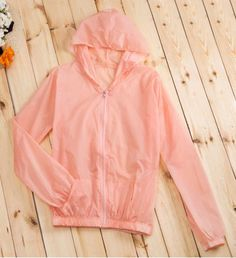 Simple Style Long Sleeve Hoodie Solid Color See-Through Pocket Women's Coat