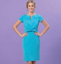 Kwik Sew Misses' Tie-Front Dresses 4154