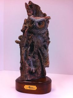 Great Horned Owl Figurine The Maiku Collection   eBay