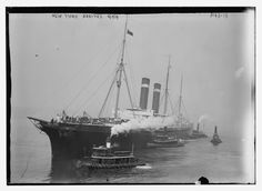 U.S.S. City of New York in August, 1914
