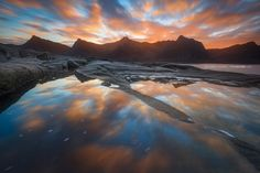 Visual summer journey to the North (Lofoten and Senja).