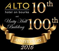 Alto is only 10 years young yet very soon our heritage listed building will tune 100!!