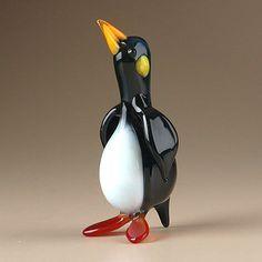 Glass Figurine of Penguin