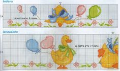 Towel Embroidery, Baby Towel, Cross Stitch Animals, Needlepoint, Diy And Crafts, Children, Handmade, Baby Cross Stitch Patterns, Cross Stitch Patterns