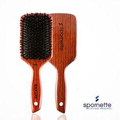 Spornette DeVille Cushion Paddle Boar Bristle Brush (#344...