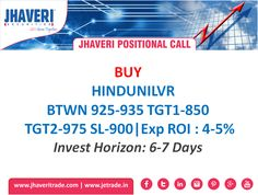 #JhaveriSecurities Positional Call for 23rd August 2016.