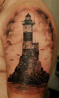 #Lighthouse #ink #tattoo