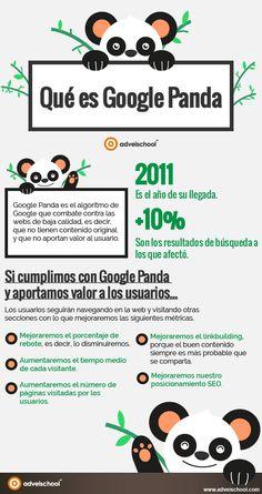 Qué es Google Panda #infografia