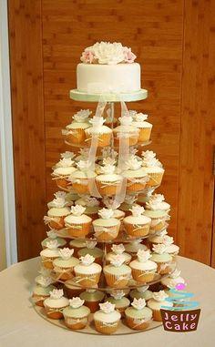 Tortas y Cupcakes, una deliciosa combinación.