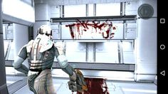Playing Dead Space for Android on my Xperia Z1 Compact