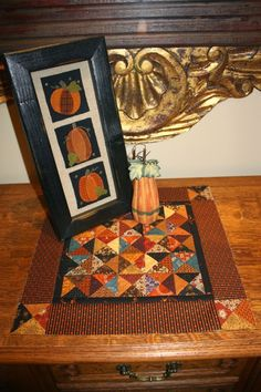 The Olde World Quilt Shoppe: All Hallow's Eve...A Sew Along