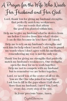 Catholic prayer for my husband