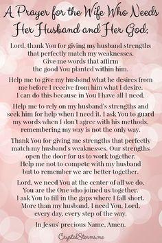 Catholic prayer for my husband