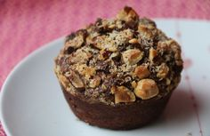 Muffins Pommes de terre Chocolat Noisettes (recette Tupperware)