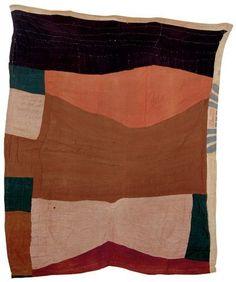 aubreylstallard: Free-form block quilt, African-American,...