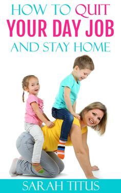 If you want to learn how to quit your job and stay home with your family, you're in the right place. A single SAHM shares all!